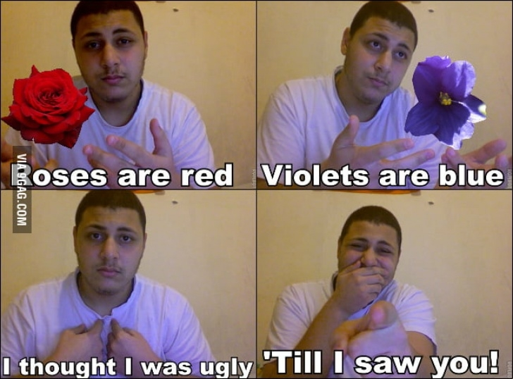 The Best Dirty Roses Are Red Violets Are Blue Image752