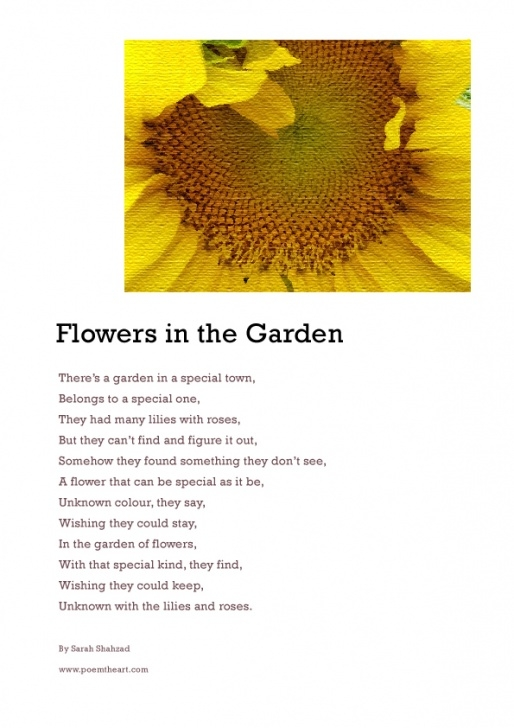 The Best Flower Garden Poem Picture556