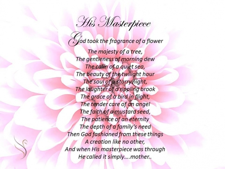 The Best Flower Poem For Mom Pic454