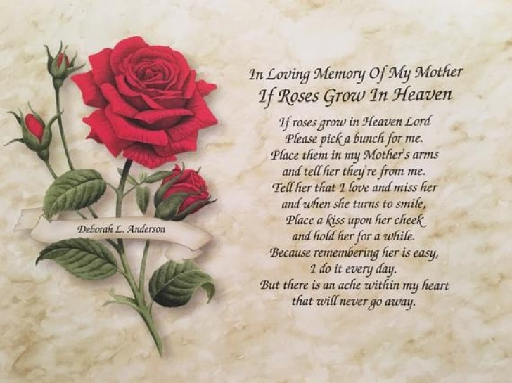 The Best Flowers In Heaven Poem Pic801
