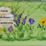 The Best Friends Are Flowers In The Garden Of Life Poem Image028