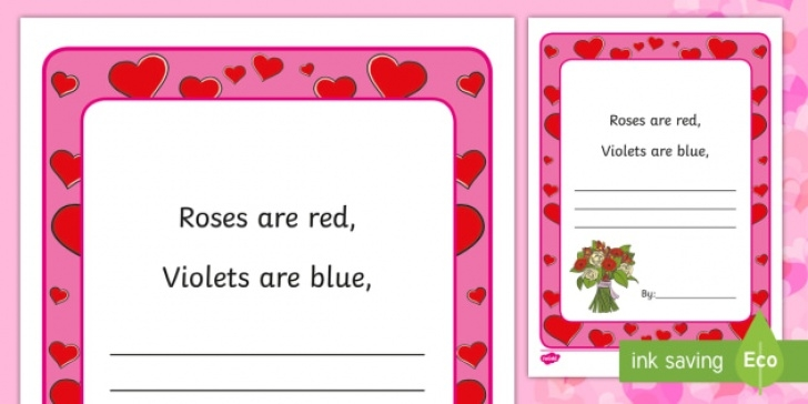 The Best Roses Are Red Violet Is Blue Pic214