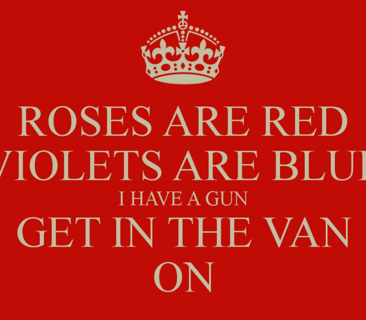 The Best Roses Are Red Violets Are Blue And So Are You Pics472