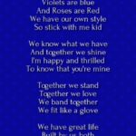 The Best Roses Are Red Violets Are Blue Poems Birthday Image912