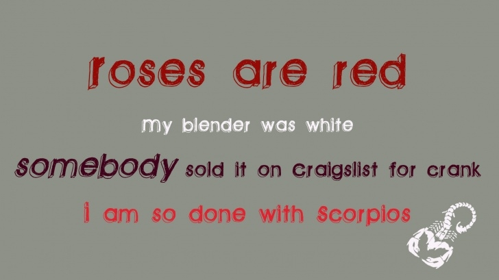 Top Funny Valentines Day Roses Are Red Poems Picture987