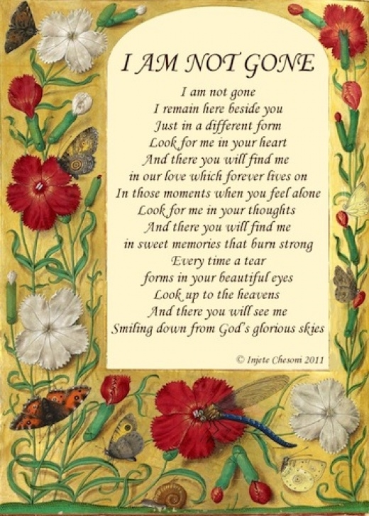 Top Garden Poems For Funerals Picture845