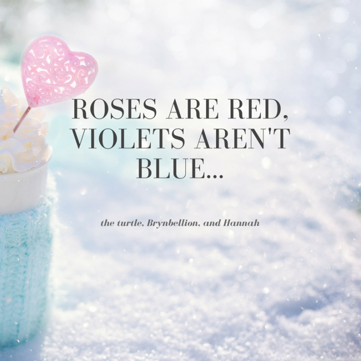 Top Roses Are Red Violets Are Blue Romantic Image348