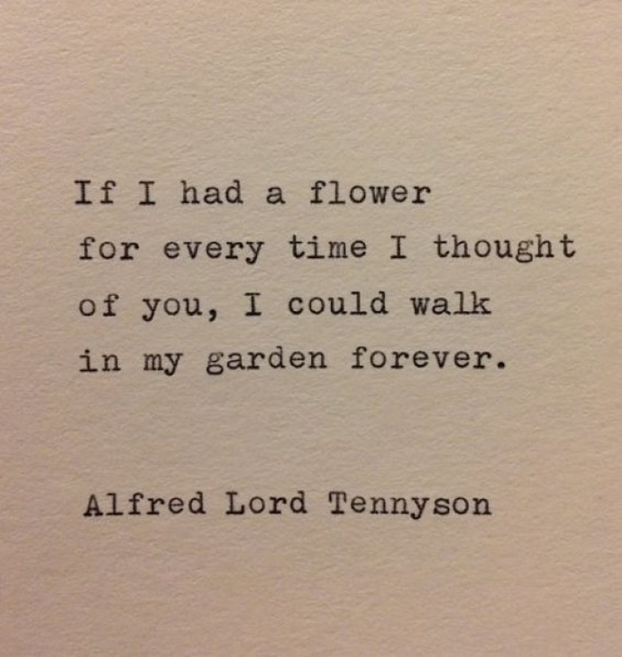 Top The Flower By Alfred Lord Tennyson Image137
