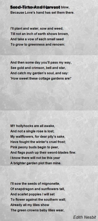 Top There Is A Garden Poem Pics228